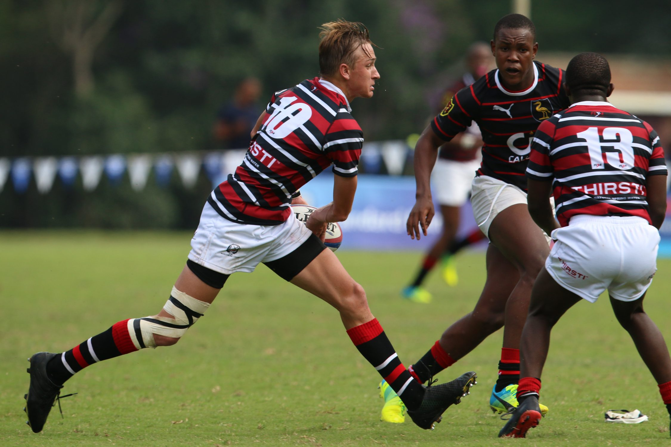 Maritzburg College play Dale College at Kearsney Easter Rugby Festival