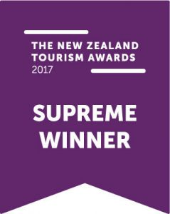 NZ Tourism Awards Supreme Winner