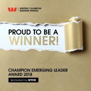 Canterbury Business Awards Emerging Leader Award