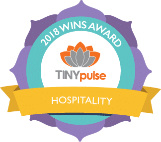 TinyPulse Hospitality Award