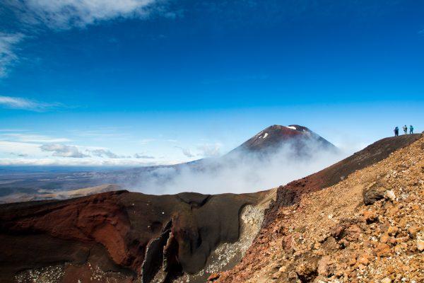 Mt Ngauruhoe from Mt Tongariro