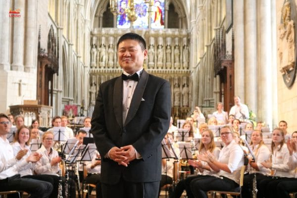 Conductor and orchestral at Southwark Cathedral