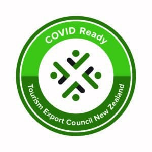 TECNZ Tourism COVID Ready NZ badge