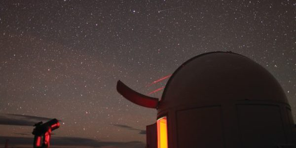 Stars over Mt John observatory on a clear night