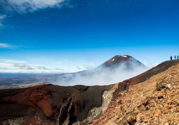 Mt Ngauruhoe from Mt Tongariro